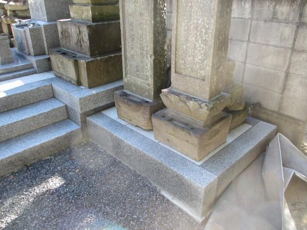 本橋家 古い墓石