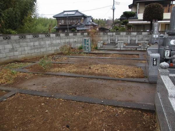 撹心寺墓地
